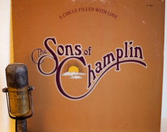 """ON SALE The Sons Of Champlin Vinyl LP Record Album Vintage 1970s Rock R&B Love Songs Sound City Recording """"A Circle Filled With Love""""(1976 A"""