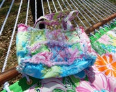 Lilly Pulitzer Rag quilt purse in some of the pastel prints