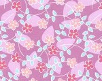 Michael Miller Floating Blossoms Peony fabric - 1 yard