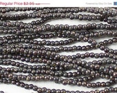 ON SALE Copper Ruby 3mm Round Czech