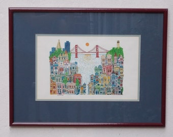 City By the Bay by Daniel Wehr-San Francisco Cityscape Wall Art