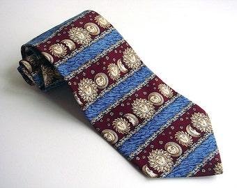 Metropolitan Museum of Art Vintage Celestial Silk Tie
