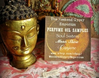 Weekend Gypsy Perfume Oil Samples - Try Our Magical Fragrance Potions