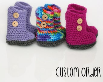 CUSTOM Waldorf Boots - ANY size, ANY colour - Bamboletta shoes