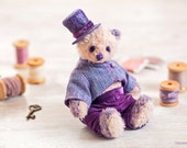 Artist Teddy Bear  Panda Bert 6 inch (15cm) OOAK