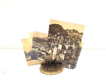 1950s Picture Postcards of Switzerland, Mid Century Real Photo Postcards of Switzerland, 1950s Switzerland