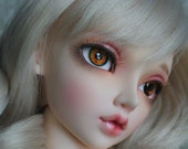 BJD eyes Doll eyes Hand made available in 12141618202224mm Tiger Orchid made to order
