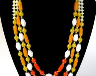 Vintage Necklace and Earring Set