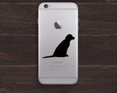 Labrador Vinyl iPhone Decal BAS-0132