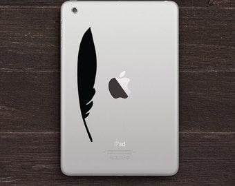 Feather Vinyl iPad Decal BAS-0279