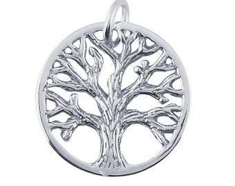 "Sterling Silver ""Tree of Life"" Charm"