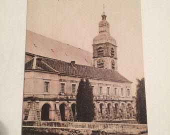 Antique Photo Postcard of Cloitre de l'Abbaye d'Hautvillers Moet et Chandon