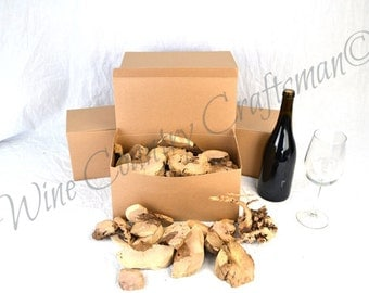 "BBQ BOX - ""Old Vine"" Grapevine pieces - gift packaged- 100% recycled"