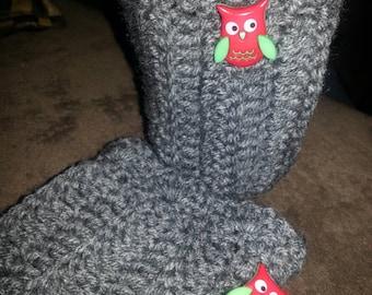 Little miss crochet boot cuffs