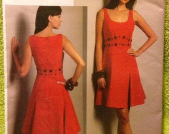 Vogue Dress Pattern / Badgley Mischka  Designer V1089 - Size 16 -1 8 - 20 - 22   Misses Dress