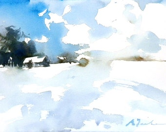 New England Winter-Scape No.74, limited edition of 50 fine art giclee prints