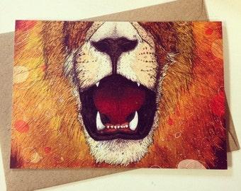 Leo // Greeting Card