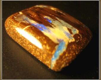 Koroit Opal cabochon, rectangular, 28.60 ct, 22.5x20x6.4 mm