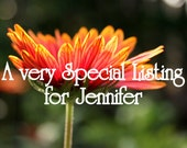 Special order for Jennifer