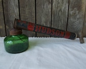 Rustic Hudson Hand Pump Insecticide Bug Sprayer