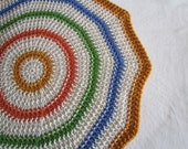 PDF Crochet Pattern - Radiant Sun Baby Blanket (permission to sell finished item) - instant download - can be made larger to any size