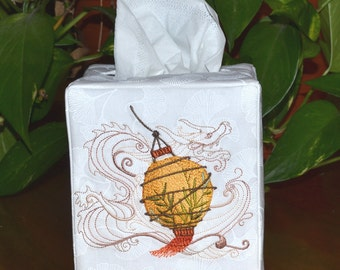 Asian Lantern Tissue Box Cover
