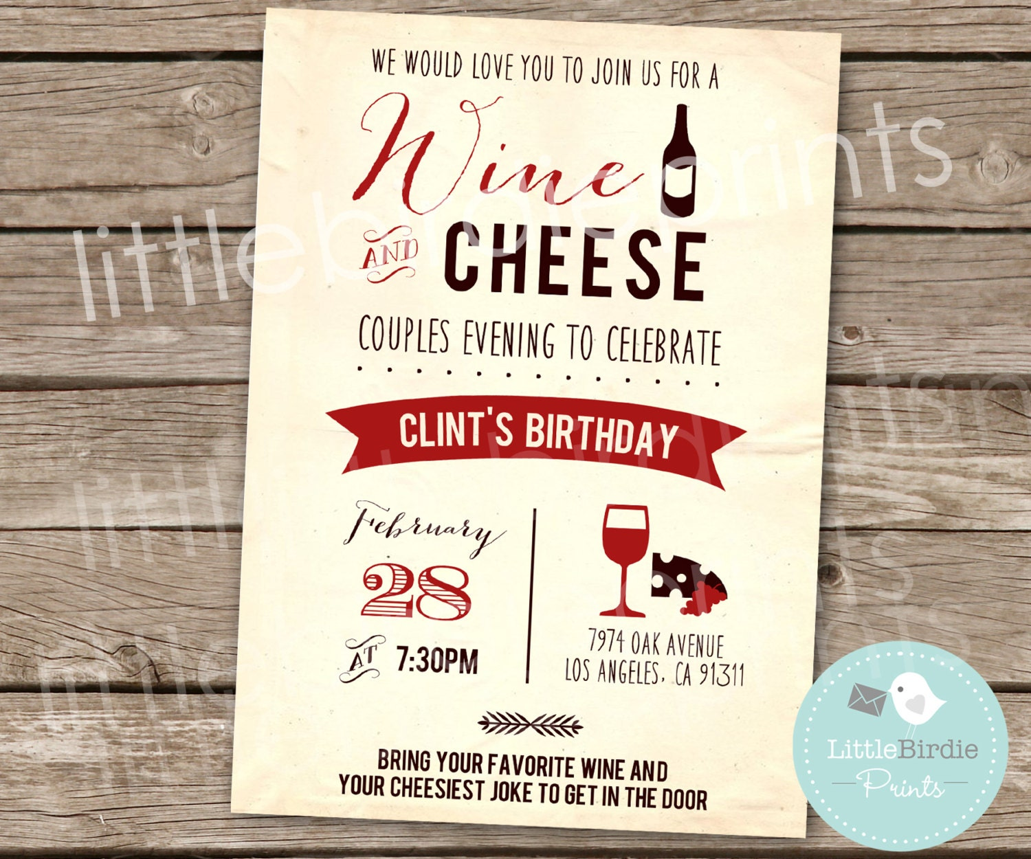 Wine And Cheese Party Invitation Wording | putput.info