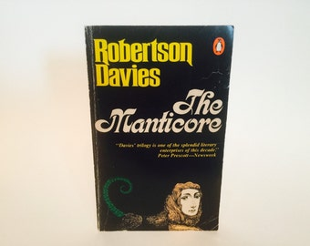 Vintage Book The Manticore by Robertson Davies 1977 UK Edition Paperback