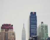 Impressions of a City I - 8x10 Fine Art Photograph, NYC, buildings, skyscrapers, urban, Empire State Building