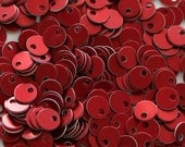 200 Mini Red Chainmaill Aluminum Disks Circles