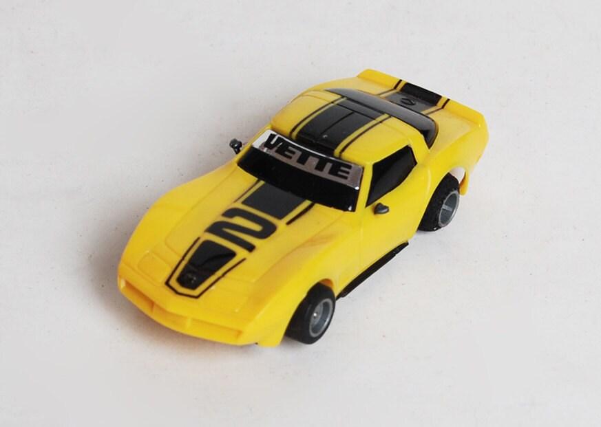 Tyco Slot Cars: Vette Tyco Slot Car Vintage