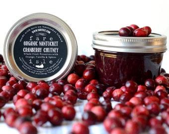 Fare Isle Nantucket Cranberry Chutney-Organic