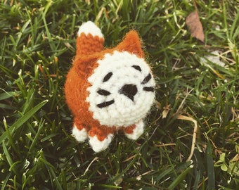 Crochet Orange Tabby Cat Amigurumi Small Kitty