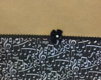 Musical Notes Gift Bag