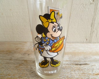 Minnie Mouse Glass Disney Pepsi Collector Series 1978
