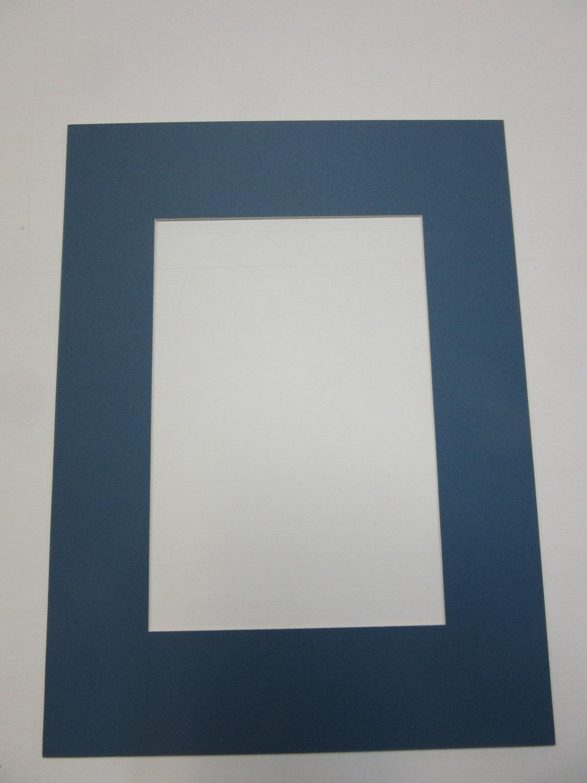 picture framing mat antique blue 12x16 for custom size opening. Black Bedroom Furniture Sets. Home Design Ideas