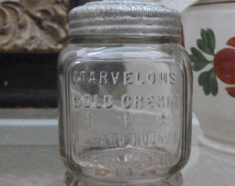Vintage Richard Hudnut Cold Cream Jar