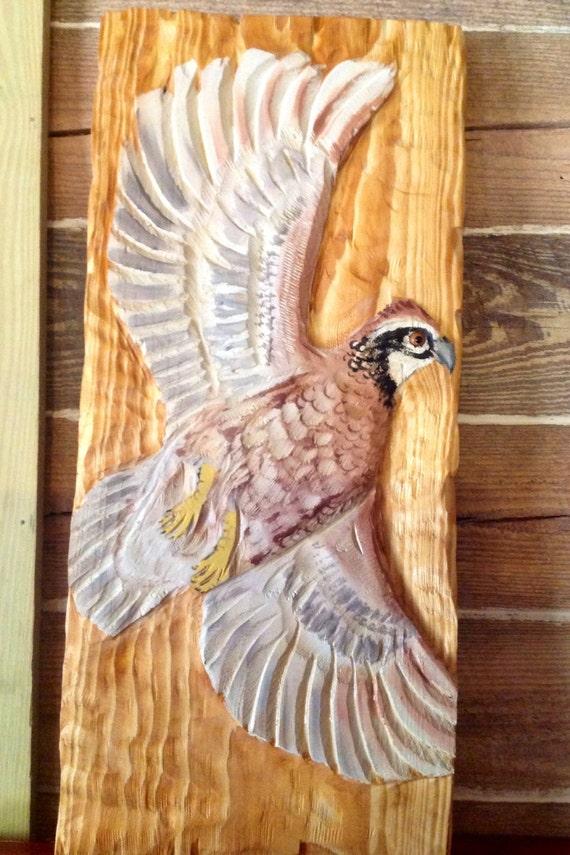Items similar to northern bobwhite quail quot rustic wall