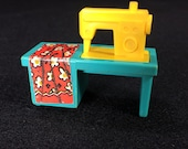 Fisher-Price Sewing Machine, 1970s Play Family