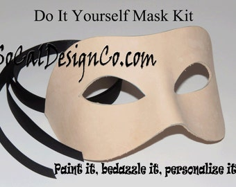 Making a bdsm mask