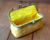Cosmetic Bag - Sunshine Yellow (Pencil Case, Cosmetic Case, Makeup Pouch, Travel Bag)