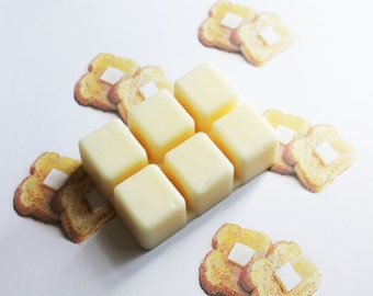 French Toast Scented Melts - Natural Vegan Soy Wax - Soy Candles - Soy Wax Melts - Soy Tarts