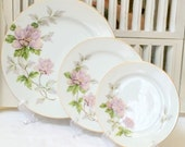 Salad Plate Seyei Fine China Peony Pattern Table Setting #2104