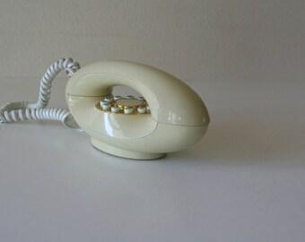 Vintage Retro Phone,Genie Telephone,Touch Button, Retro
