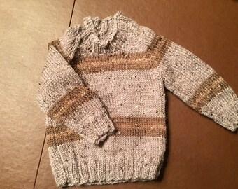 Knit Baby Reglan Sweater