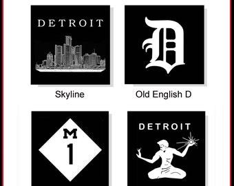Detroit Coaster Set (4)