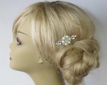 Bridal Bearl Comb - Bridal Headpiece,Bridal Hair Comb,Blusher Bird Cage Veil,bridal jewelry,bridal hair accessories