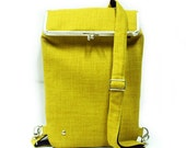 Backpack - for laptop and more -Lemon Green - Duchess Case collection