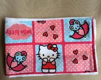 Hello Kitty Burp Cloth