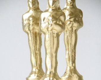 Edible Movie Award Statuettes 6 Lollipops